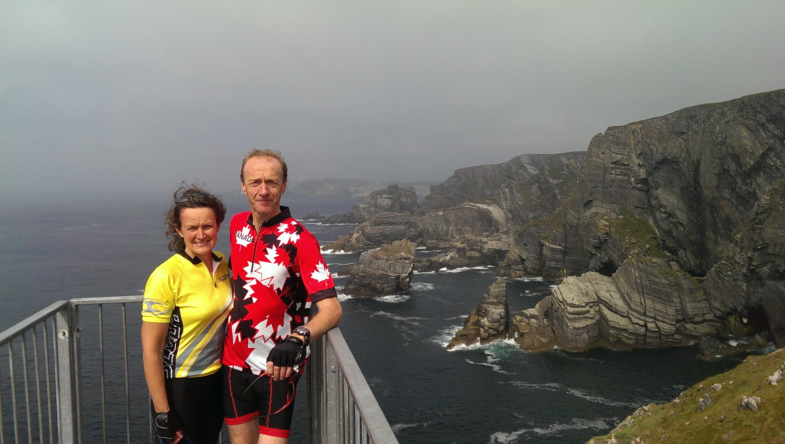 Mizen Head - All set for the start of another end-to-end adventure